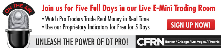 CFRN Join us for Five Full Days in Our Live E-Mini Trading Room